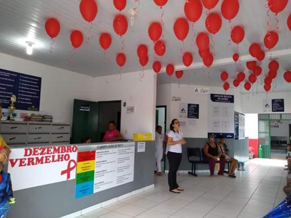 DEZEMBRO VERMELHO 2018 - A VIDA É MAIS FORTE DO QUE A AIDS.