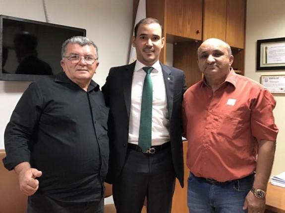 Prefeito Raimundo Gordo, Dep. Vicentinho Jr. e Prefeito Raimundo Nonato Nestor