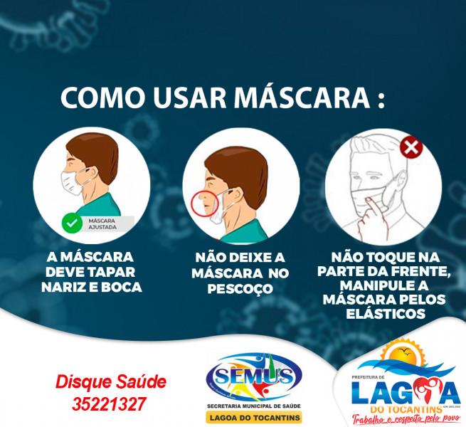 Como usar Máscara