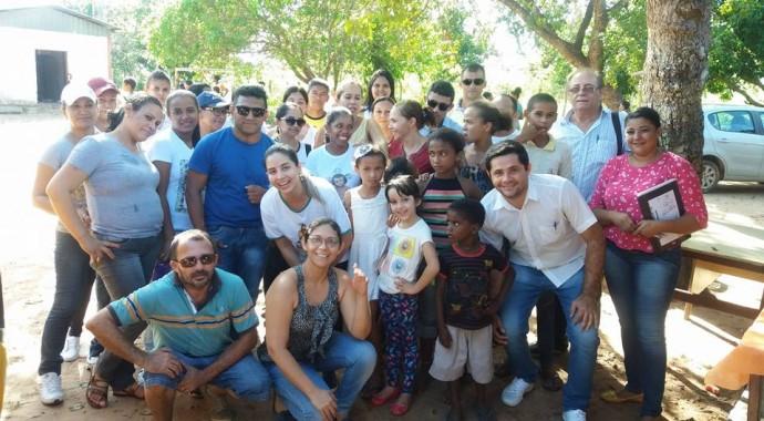 Ação conjunta realizada no Povoado do Rio Preto