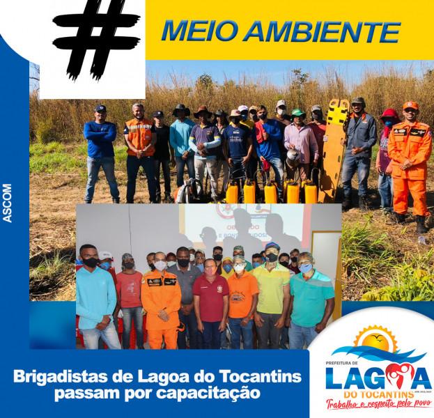 Brigadistas de Lagoa do Tocantins passam por capacitação